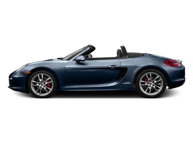 Dark Blue Metallic 2016 Porsche Boxster Pictures Boxster Roadster 2D GTS H6 photos side view