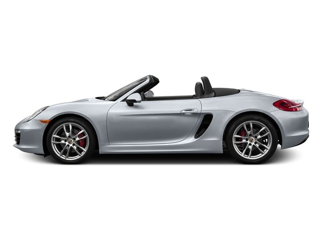 Rhodium Silver Metallic 2016 Porsche Boxster Pictures Boxster Roadster 2D GTS H6 photos side view