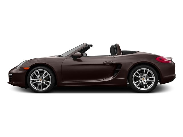 Mahogany Metallic 2016 Porsche Boxster Pictures Boxster Roadster 2D H6 photos side view