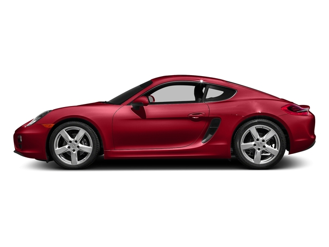 Carmine Red 2016 Porsche Cayman Pictures Cayman Coupe 2D H6 photos side view