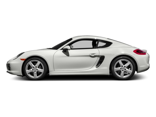 White 2016 Porsche Cayman Pictures Cayman Coupe 2D H6 photos side view