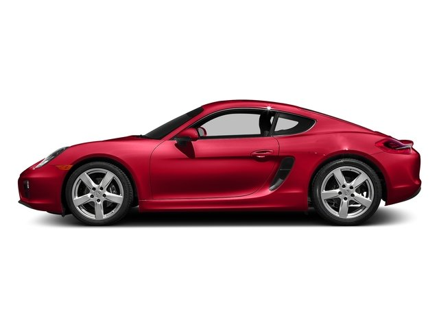 Guards Red 2016 Porsche Cayman Pictures Cayman Coupe 2D H6 photos side view