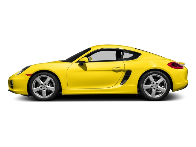 Racing Yellow 2016 Porsche Cayman Pictures Cayman Coupe 2D H6 photos side view