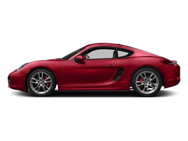Carmine Red 2016 Porsche Cayman Pictures Cayman Coupe 2D S H6 photos side view