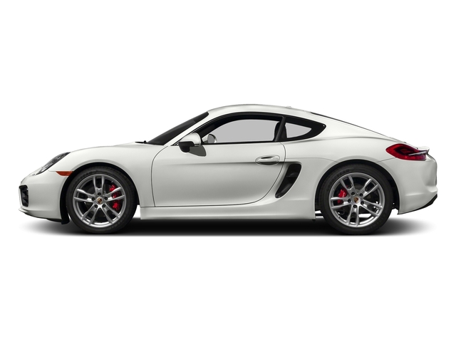 White 2016 Porsche Cayman Pictures Cayman Coupe 2D S H6 photos side view