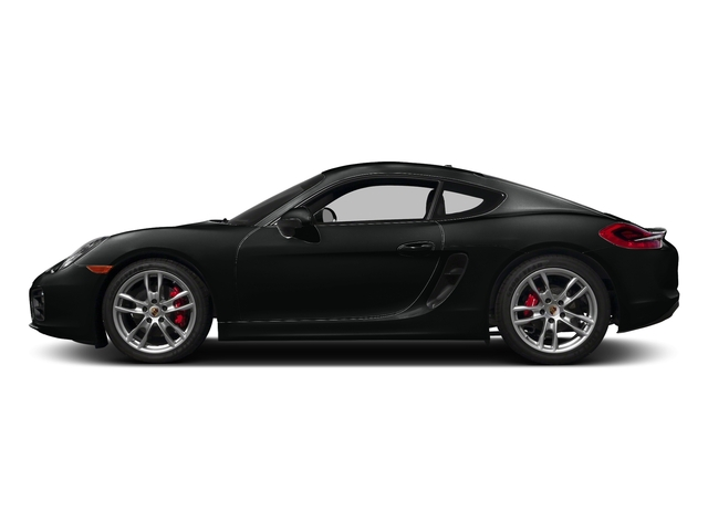 Jet Black Metallic 2016 Porsche Cayman Pictures Cayman Coupe 2D S H6 photos side view