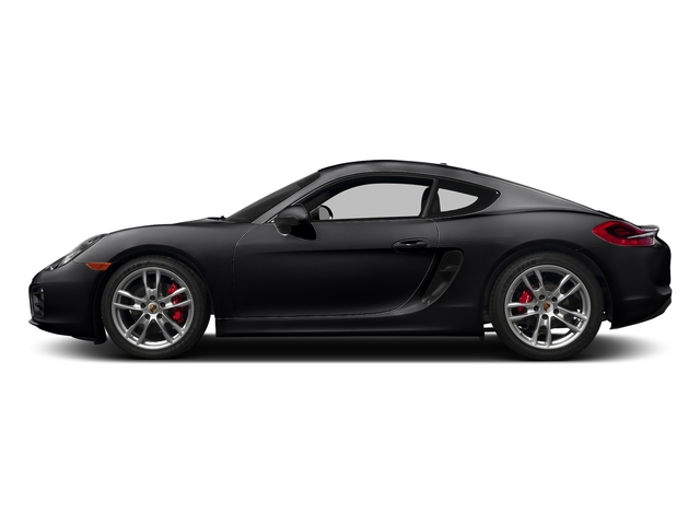 Black 2016 Porsche Cayman Pictures Cayman Coupe 2D S H6 photos side view