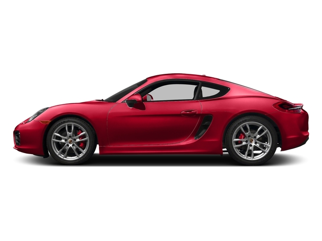 Guards Red 2016 Porsche Cayman Pictures Cayman Coupe 2D S H6 photos side view