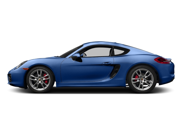 Sapphire Blue Metallic 2016 Porsche Cayman Pictures Cayman Coupe 2D S H6 photos side view