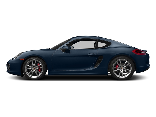 Dark Blue Metallic 2016 Porsche Cayman Pictures Cayman Coupe 2D S H6 photos side view