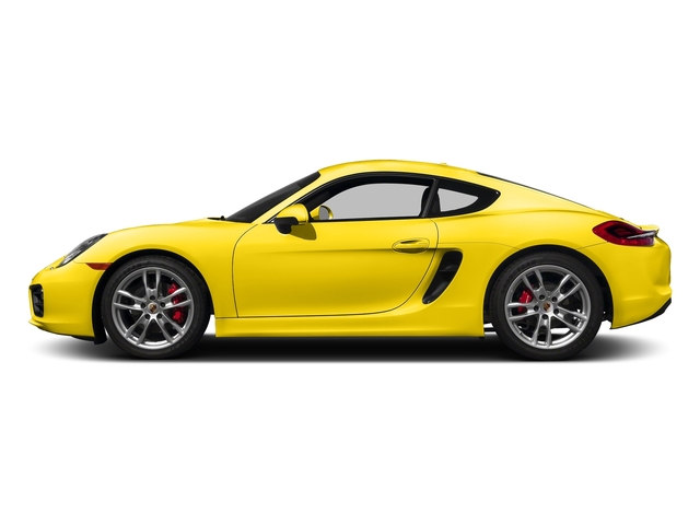 Racing Yellow 2016 Porsche Cayman Pictures Cayman Coupe 2D S H6 photos side view
