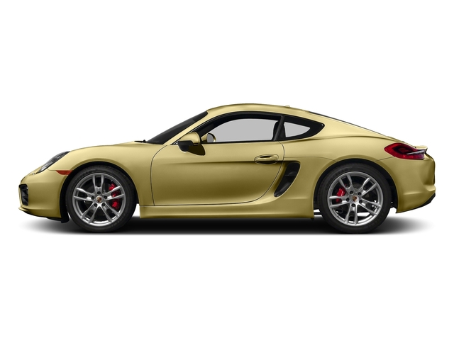 Lime Gold Metallic 2016 Porsche Cayman Pictures Cayman Coupe 2D S H6 photos side view