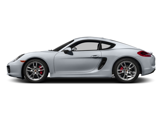Rhodium Silver Metallic 2016 Porsche Cayman Pictures Cayman Coupe 2D S H6 photos side view