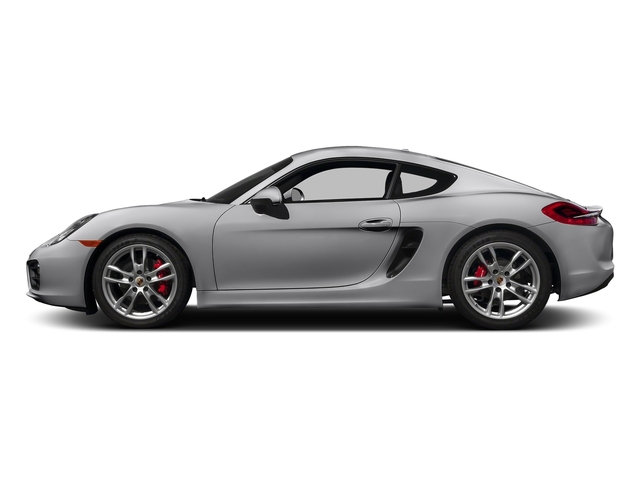 GT Silver Metallic 2016 Porsche Cayman Pictures Cayman Coupe 2D S H6 photos side view