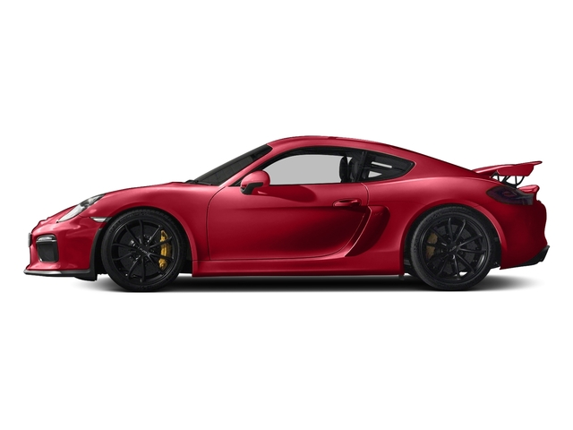 Carmine Red 2016 Porsche Cayman Pictures Cayman Coupe 2D GT4 H6 photos side view