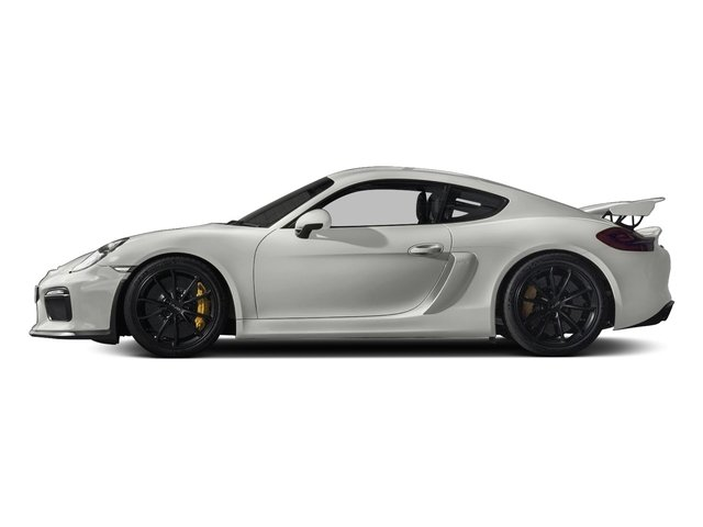 White 2016 Porsche Cayman Pictures Cayman Coupe 2D GT4 H6 photos side view