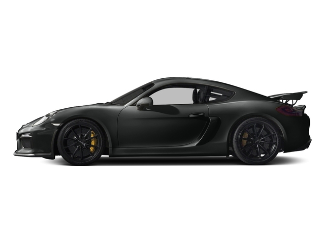 Jet Black Metallic 2016 Porsche Cayman Pictures Cayman Coupe 2D GT4 H6 photos side view