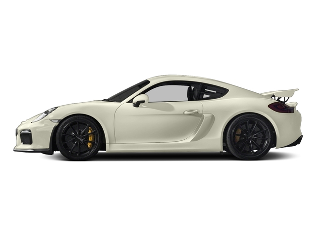 Carrara White Metallic 2016 Porsche Cayman Pictures Cayman Coupe 2D GT4 H6 photos side view