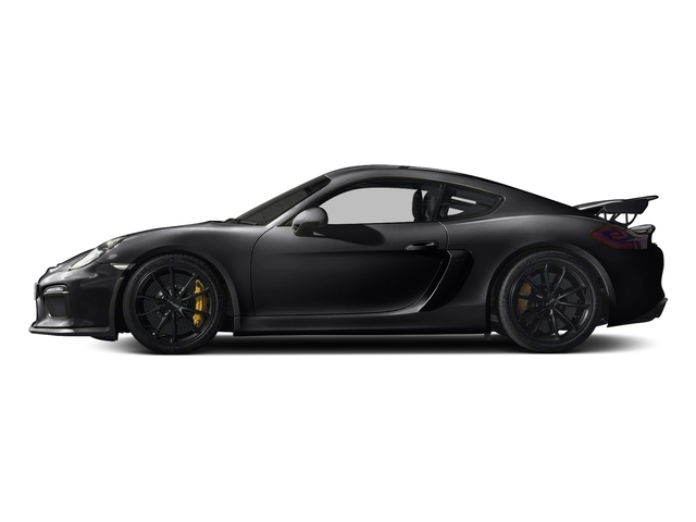 Black 2016 Porsche Cayman Pictures Cayman Coupe 2D GT4 H6 photos side view
