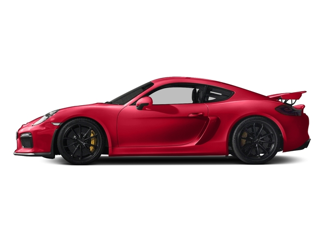 Guards Red 2016 Porsche Cayman Pictures Cayman Coupe 2D GT4 H6 photos side view