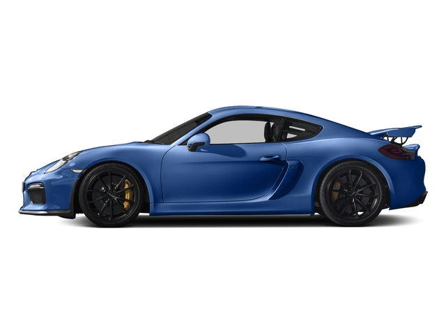 Sapphire Blue Metallic 2016 Porsche Cayman Pictures Cayman Coupe 2D GT4 H6 photos side view