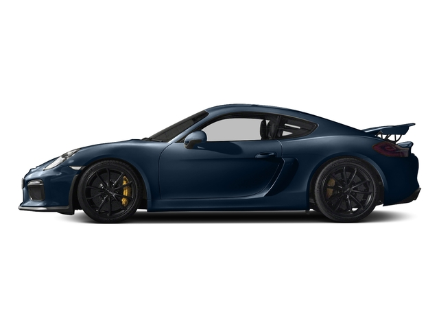 Dark Blue Metallic 2016 Porsche Cayman Pictures Cayman Coupe 2D GT4 H6 photos side view