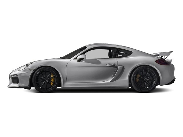 GT Silver Metallic 2016 Porsche Cayman Pictures Cayman Coupe 2D GT4 H6 photos side view