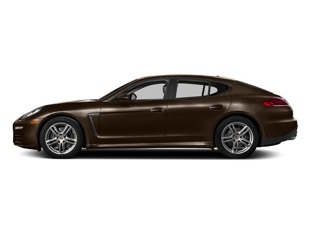 Chestnut Brown Metallic 2016 Porsche Panamera Pictures Panamera Hatchback 4D 4S Exec AWD V6 Turbo photos side view
