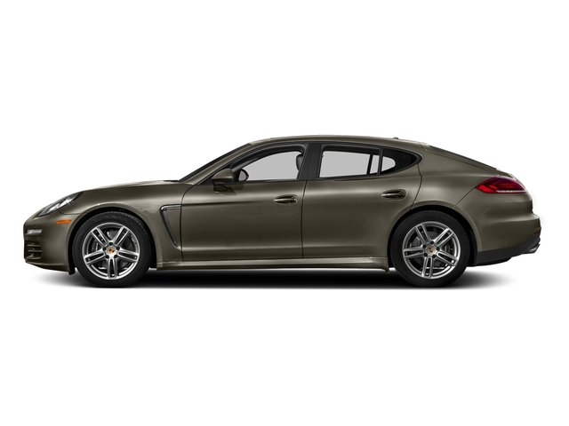 Palladium Metallic 2016 Porsche Panamera Pictures Panamera Hatchback 4D 4 AWD H6 photos side view