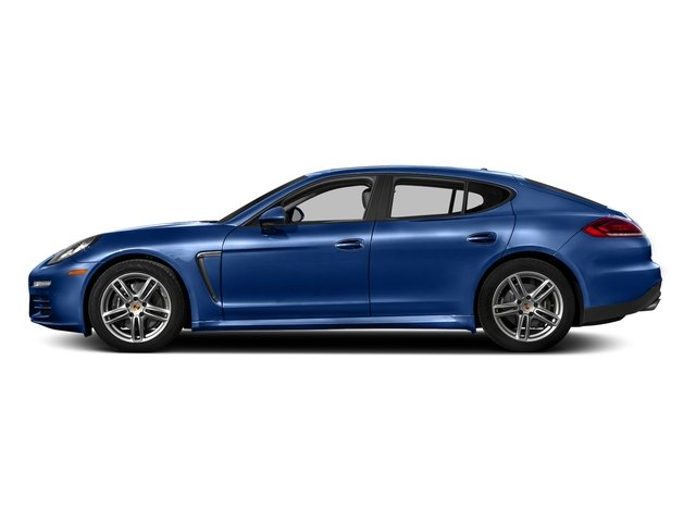 Sapphire Blue Metallic 2016 Porsche Panamera Pictures Panamera Hatchback 4D 4 AWD H6 photos side view