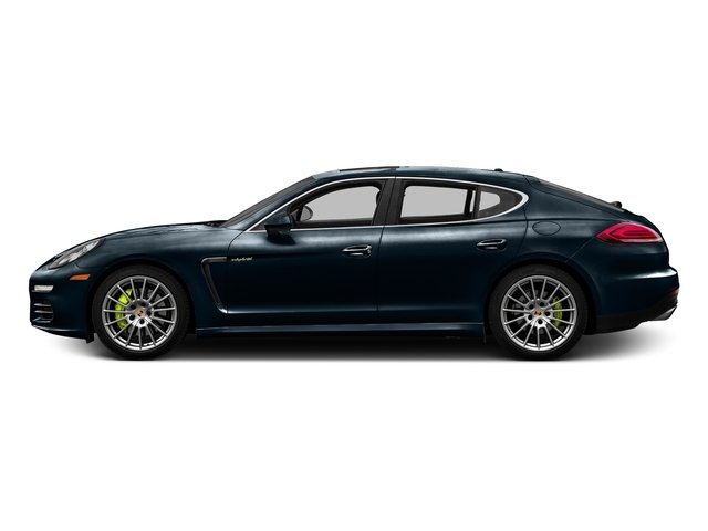 Night Blue Metallic 2016 Porsche Panamera Pictures Panamera Hatchback 4D S e-Hybrid V6 photos side view