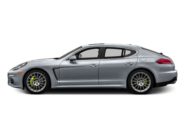 Rhodium Silver Metallic 2016 Porsche Panamera Pictures Panamera Hatchback 4D S e-Hybrid V6 photos side view