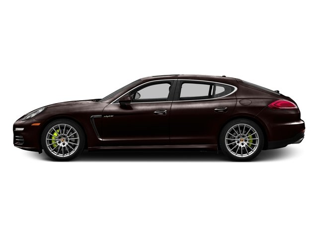 Mahogany Metallic 2016 Porsche Panamera Pictures Panamera Hatchback 4D S e-Hybrid V6 photos side view