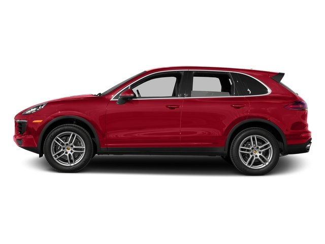 Carmine Red 2016 Porsche Cayenne Pictures Cayenne Utility 4D AWD V6 T-Diesel photos side view