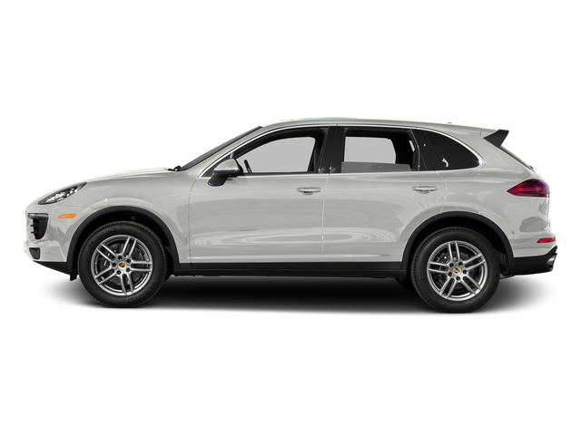 White 2016 Porsche Cayenne Pictures Cayenne Utility 4D AWD V6 T-Diesel photos side view
