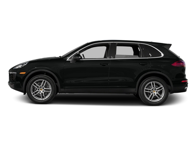 Jet Black Metallic 2016 Porsche Cayenne Pictures Cayenne Utility 4D AWD V6 T-Diesel photos side view