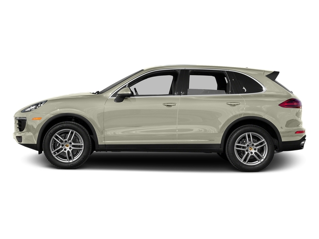 Carrara White Metallic 2016 Porsche Cayenne Pictures Cayenne Utility 4D AWD V6 photos side view