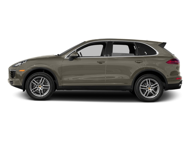 Palladium Metallic 2016 Porsche Cayenne Pictures Cayenne Utility 4D AWD V6 photos side view