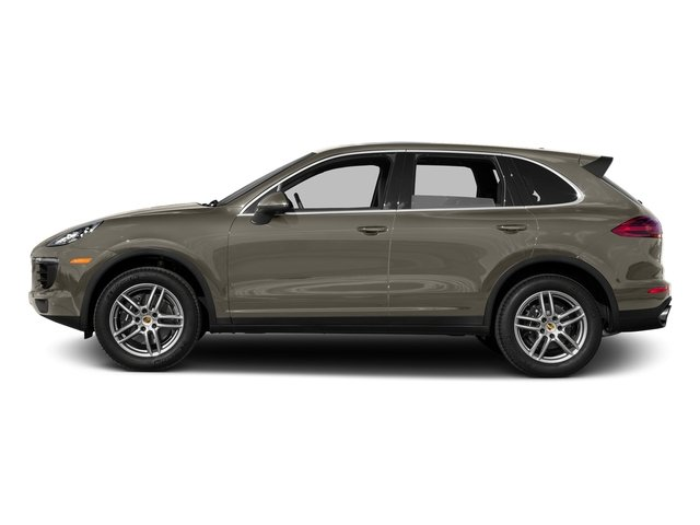 Palladium Metallic 2016 Porsche Cayenne Pictures Cayenne Utility 4D AWD V6 T-Diesel photos side view