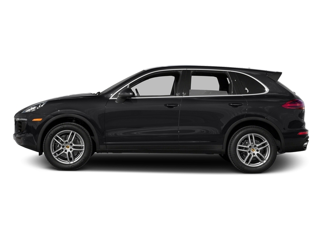 Black 2016 Porsche Cayenne Pictures Cayenne Utility 4D AWD V6 T-Diesel photos side view