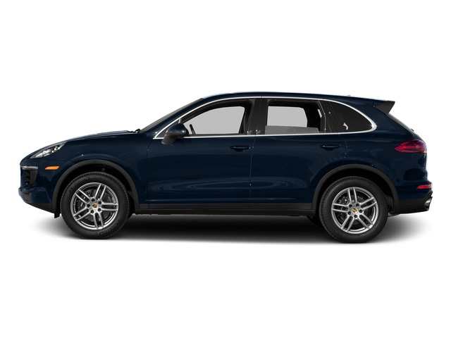 Moonlight Blue Metallic 2016 Porsche Cayenne Pictures Cayenne Utility 4D AWD V6 T-Diesel photos side view