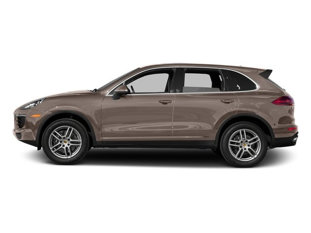 Umber Metallic 2016 Porsche Cayenne Pictures Cayenne Utility 4D AWD V6 T-Diesel photos side view