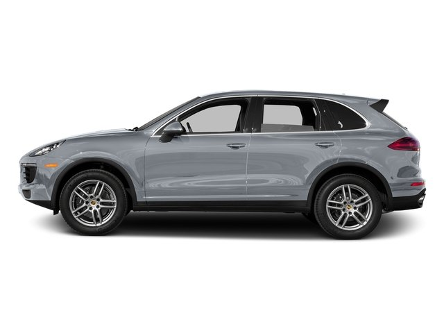Rhodium Silver Metallic 2016 Porsche Cayenne Pictures Cayenne Utility 4D AWD V6 T-Diesel photos side view