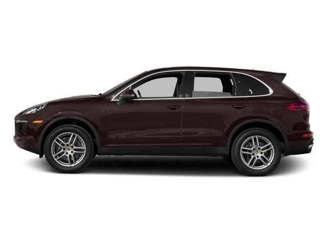 Mahogany Metallic 2016 Porsche Cayenne Pictures Cayenne Utility 4D AWD V6 T-Diesel photos side view