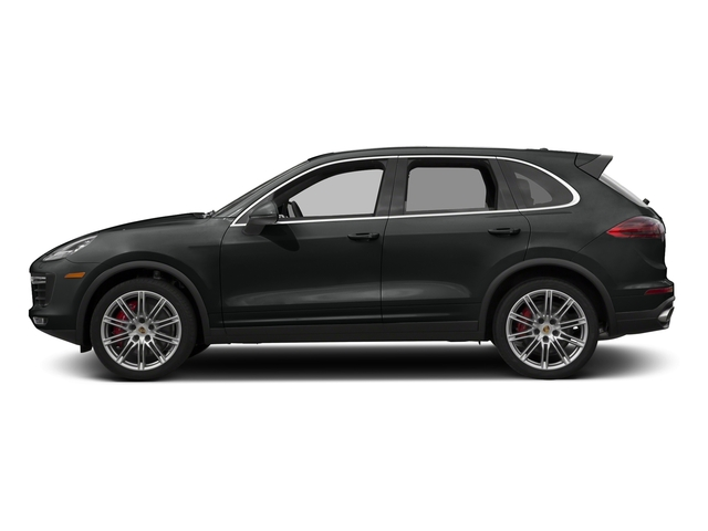 Jet Black Metallic 2016 Porsche Cayenne Pictures Cayenne Utility 4D S AWD V8 Turbo photos side view