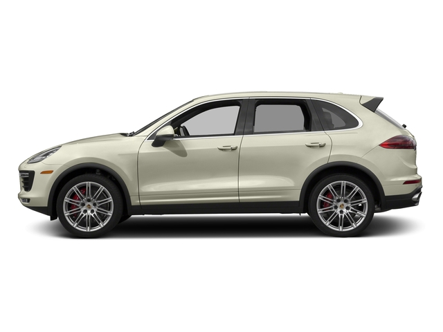 Carrara White Metallic 2016 Porsche Cayenne Pictures Cayenne Utility 4D S AWD V8 Turbo photos side view