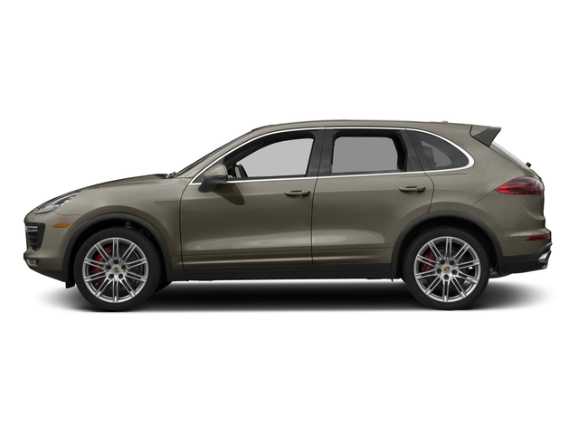 Palladium Metallic 2016 Porsche Cayenne Pictures Cayenne Utility 4D S AWD V8 Turbo photos side view