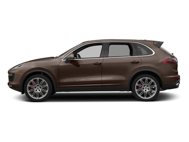 Umber Metallic 2016 Porsche Cayenne Pictures Cayenne Utility 4D S AWD V8 Turbo photos side view