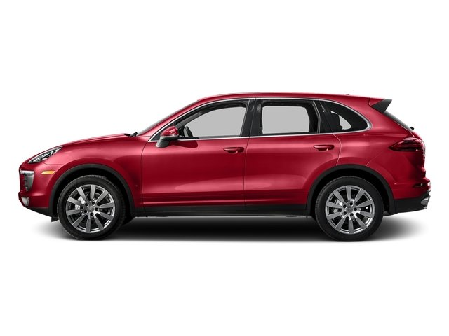 Carmine Red 2016 Porsche Cayenne Pictures Cayenne Utility 4D S AWD V6 Turbo photos side view