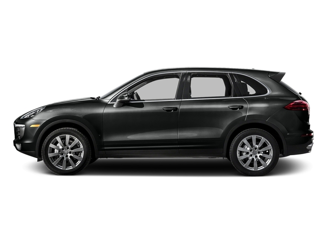 Jet Black Metallic 2016 Porsche Cayenne Pictures Cayenne Utility 4D S AWD V6 Turbo photos side view